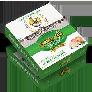 نان خشک محتوی آرد گندم با تزئین کنجد نان کارآفرینان پارس